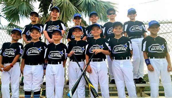 Oldsmar Little League AllStars